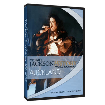 Michael Jackson HIStory Tour Auckland 1996 dvd