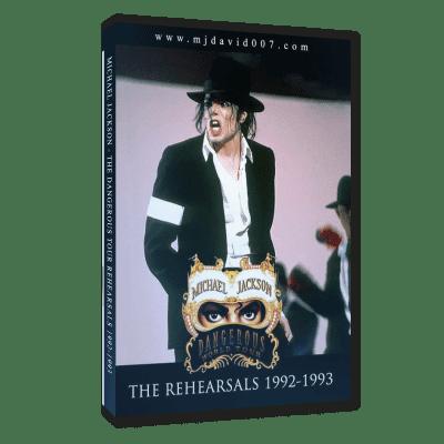 Michael Jackson Dangerous Tour Rehearsals dvd