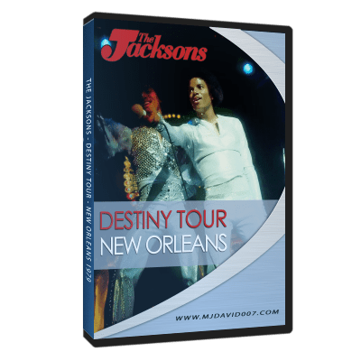 The Jacksons Destiny Tour New Orleans 1979 dvd