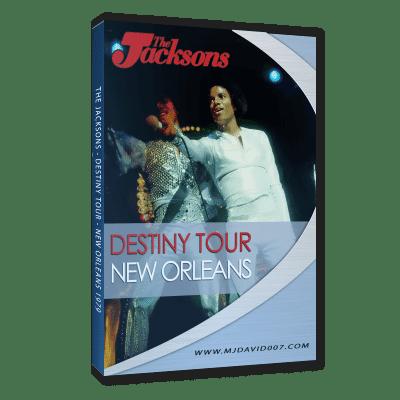 The Jacksons Destiny Tour New Orleans 1979 dvd