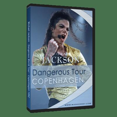 Michael Jackson Dangerous Tour Copenhagen dvd
