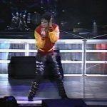 Michael Jackson performing Thriller in 1988