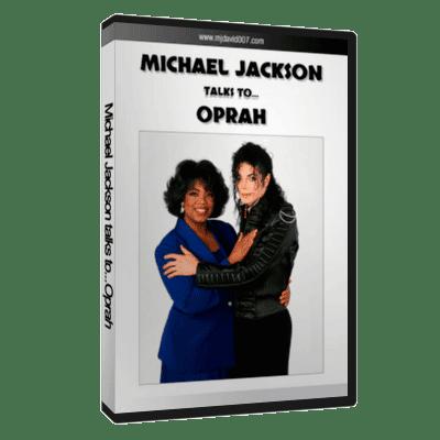 Michael Jackson talks to Oprah dvd cover