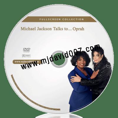Disc of Michael Jackson talks to Oprah dvd