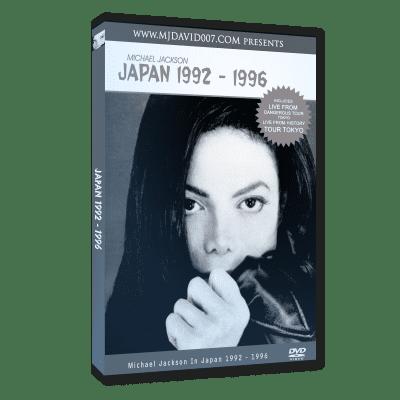 Michael Jackson Japan dvd