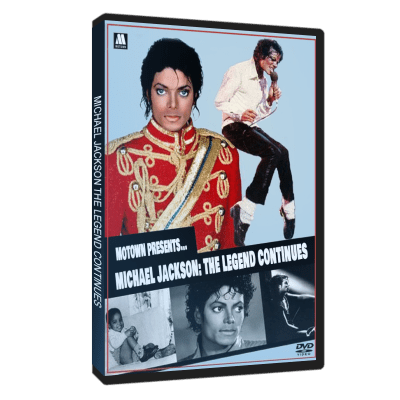Michael Jackson The Legend Continues dvd