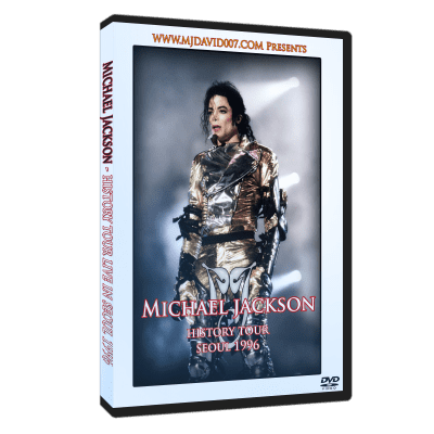 Michael Jackson HIStory Tour Seoul 1996 dvd