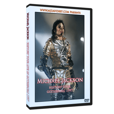 Michael Jackson HIStory Tour Gotheborg 1997 dvd