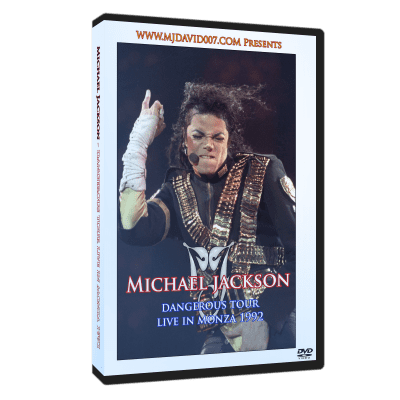Michael Jackson Dangerous Tour Monza 1992 dvd