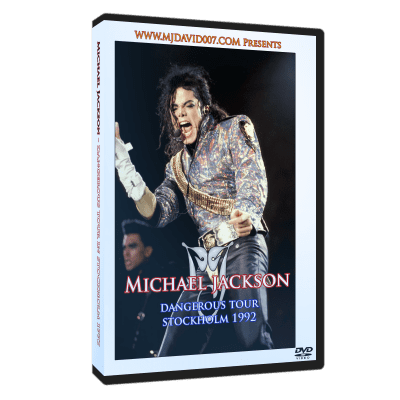 Michael Jackson Dangerous Tour Stockholm 1992 dvd