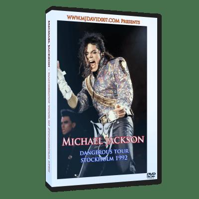 Michael Jackson Dangerous Tour Stockholm 1992 dvd
