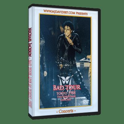 Michael Jackson Bad Tour Tokyo 1988 dvd