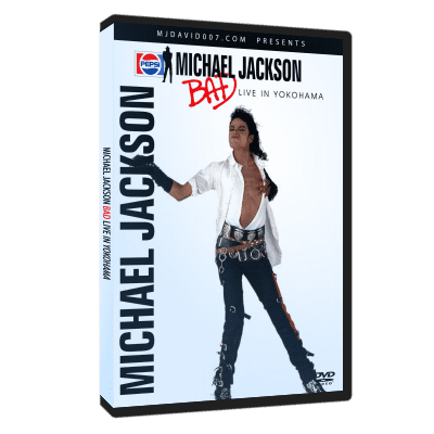 Michael Jackson Bad Tour Yokohama 1987 dvd