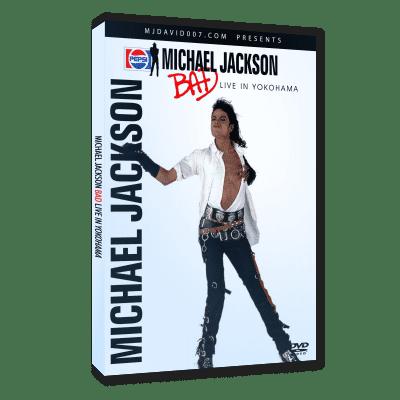 Michael Jackson Bad Tour Yokohama 1987 dvd