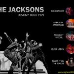 Dvd menu for the Jacksons Destiny Tour
