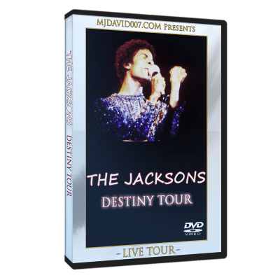 The Jacksons Destiny Tour London 1978 dvd