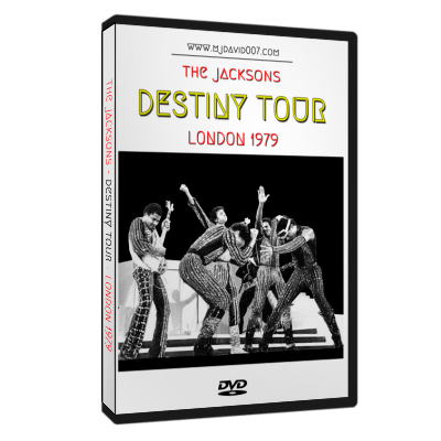 Dvd cover for The Jacksons Destiny in London