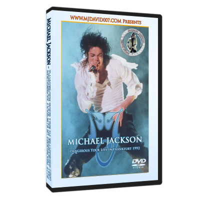 Michael Jackson - Dangerous Tour in Frankfurt 1992 dvd