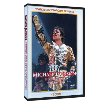 Michael Jackson HIStory Tour Sydney 1996 dvd