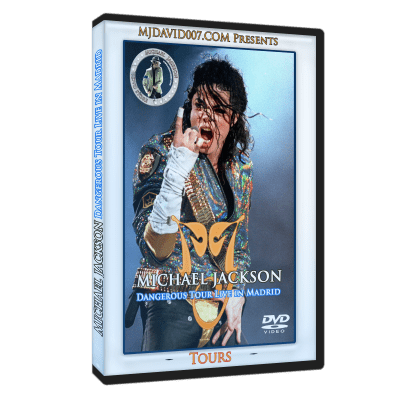 Michael Jackson Dangerous Tour Madrid 1992 dvd