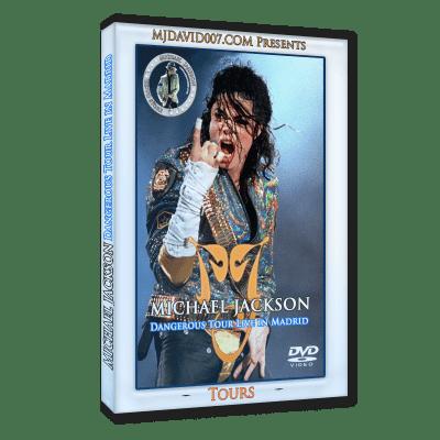Michael Jackson Dangerous Tour Madrid 1992 dvd
