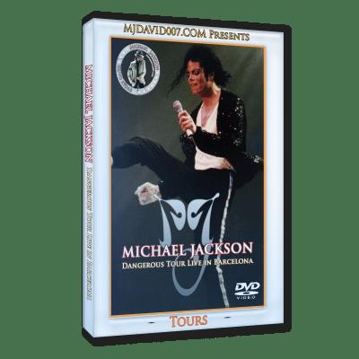 Michael Jackson Dangerous Tour Barcelona 1992 dvd