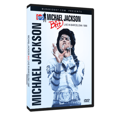 Michael Jackson Bad Tour Barcelona 1988 dvd