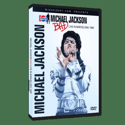 Michael Jackson Bad Tour Barcelona 1988 dvd