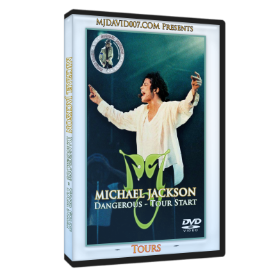 Michael Jackson Dangerous Tour Starts dvd