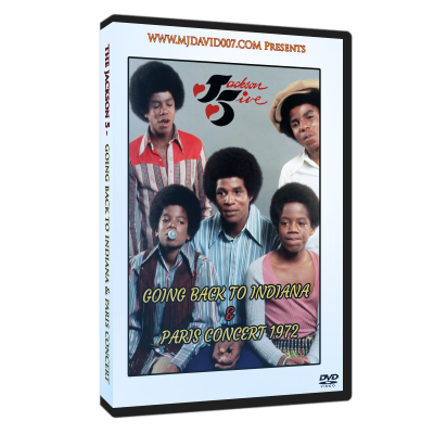 Jackson 5 Going Back to Indiana dvd