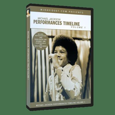 Michael Jackson Performances Timeline volumen 1