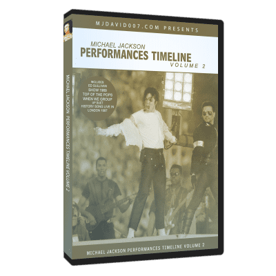 Michael Jackson Performances Timeline volumen 2
