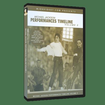 Michael Jackson Performances Timeline volumen 2