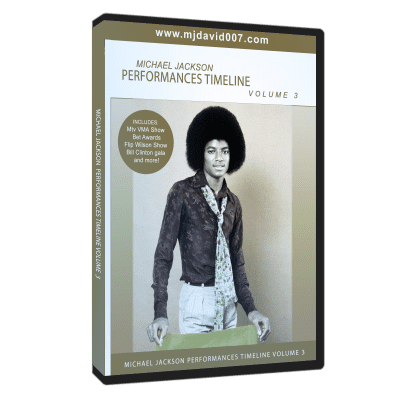 Michael Jackson Performances Timeline volumen 3