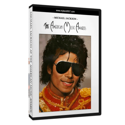 Dvd cover for Michael Jackson at American Music Awards