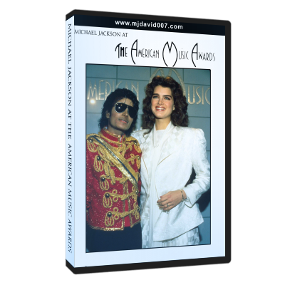 Michael Jackson American Music Awards dvd