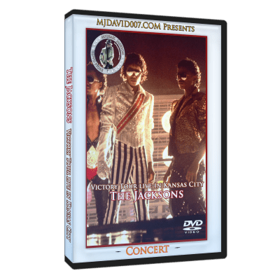 The Jacksons Victory Tour Dallas dvd