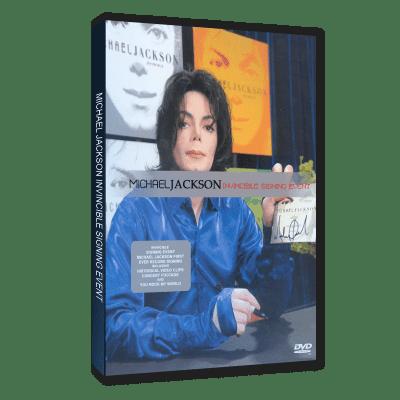 Michael Jackson Invincible Virgin dvd