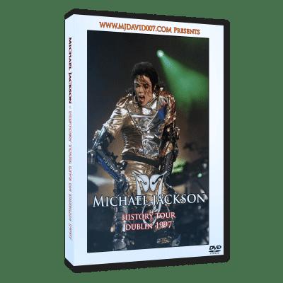 Michael Jackson HIStory Tour Dublin 1997 dvd