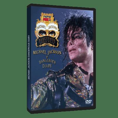 Michael Jackson Dangerous Diary dvd