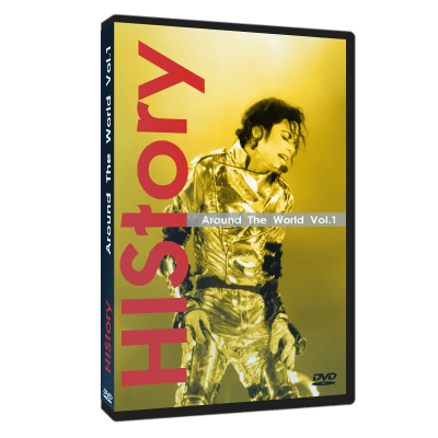 MIchael Jackson HIStory Around World dvd 1