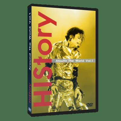 MIchael Jackson HIStory Around World dvd 1
