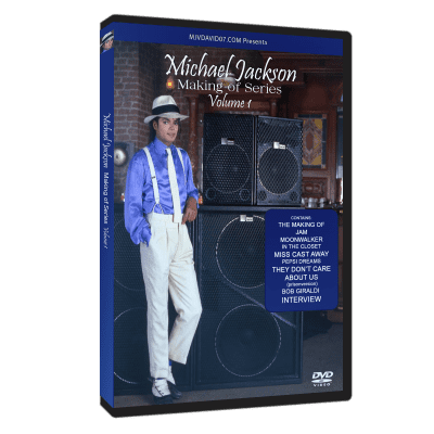 Michael Jackson making of dvd