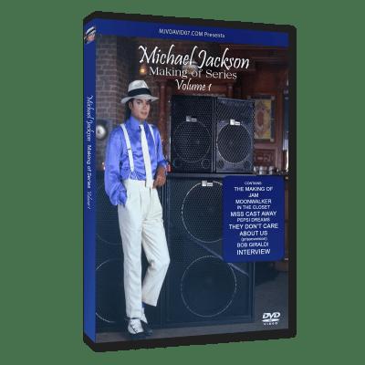 Michael Jackson making of dvd