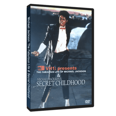 Michael Jackson Secret Childhood dvd