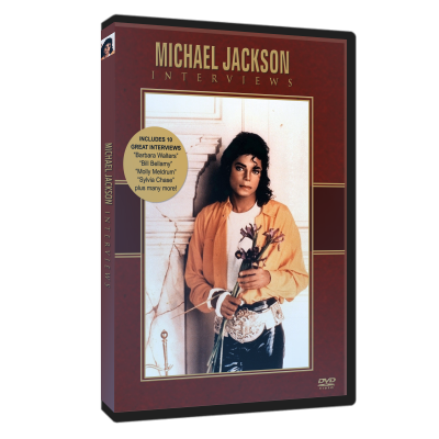 Michael Jackson interviews dvd