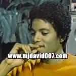 Michael Jackson talking to Sylvia Chase