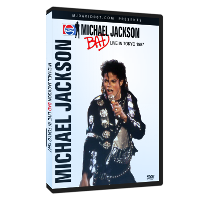 Michael Jackson Bad Tour Tokyo 1987 dvd