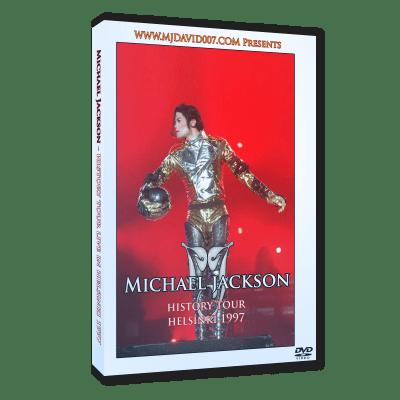 Michael Jackson HIStory Tour Helsinki 1997 dvd