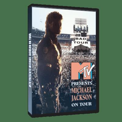 Michael Jackson Bad Tour on MTV dvd